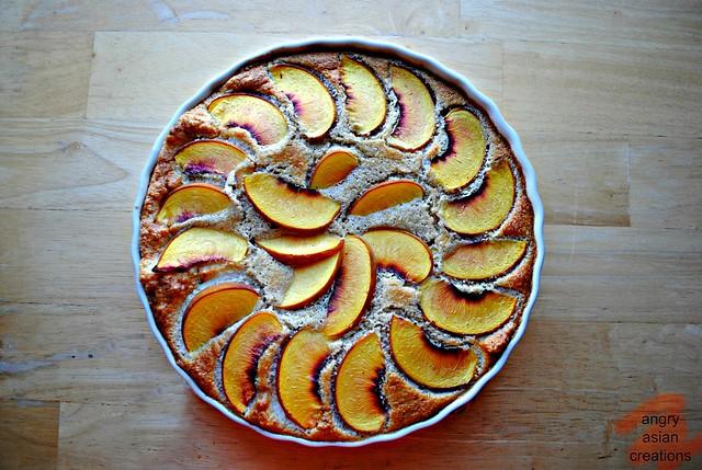 Peach Polenta Cake 2