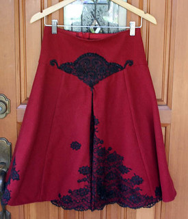 wool lace skirt (for swap)