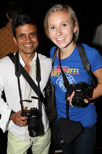 Milind Raj and Hadley Fielding