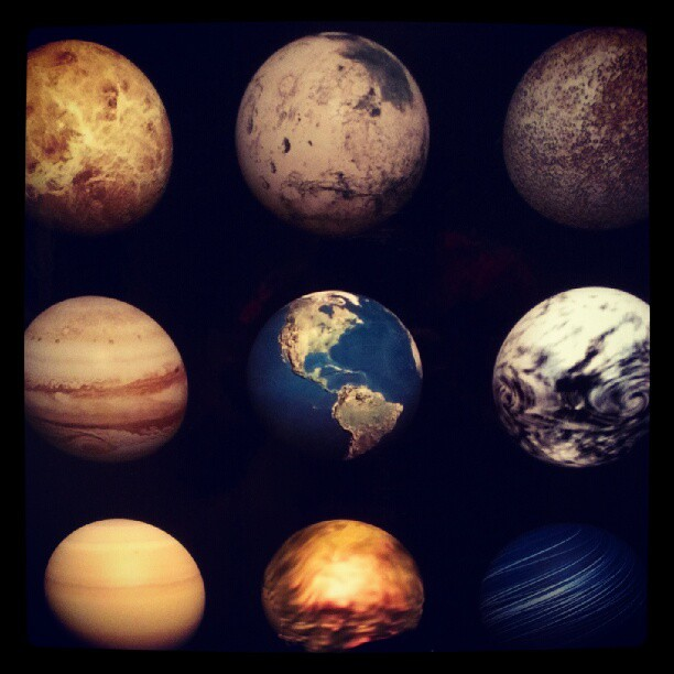 nine planets and pluto - photo #6