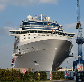 Celebrity Reflection  in Papenburg Germany