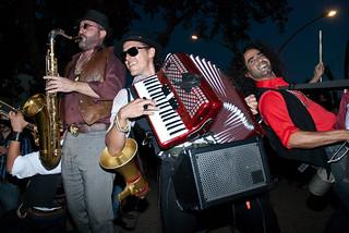 La Maravilla Gypsy Band en Alamedeando 2012