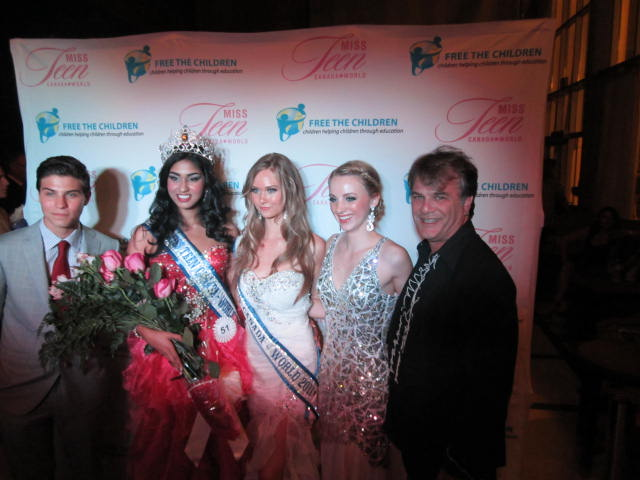 Two Miss Teen Canada, World, Lauren Howe,  Together with Megha Sandhu