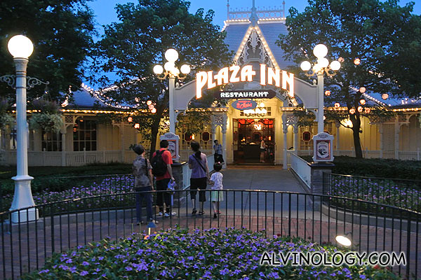 Plaza Inn Restaurant in Hong Kong Disneyland