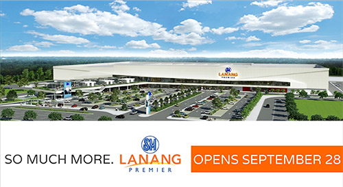 SM Lanang Premier Opens on September 28 in Davao City