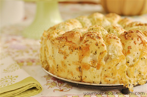 Cheesy Garlic Bread with frozen bread dough