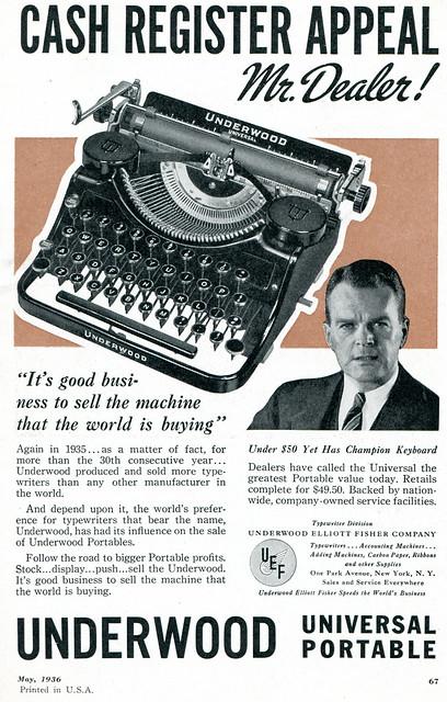 Underwood 1936