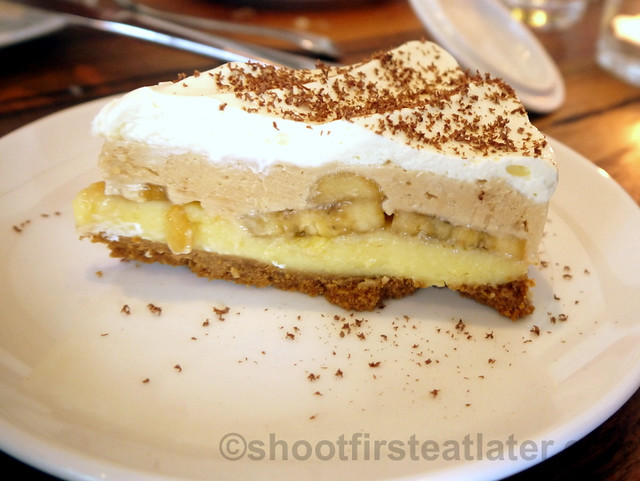 Wildflour Cafe + Bakery- peanut butter banana cream pie P180