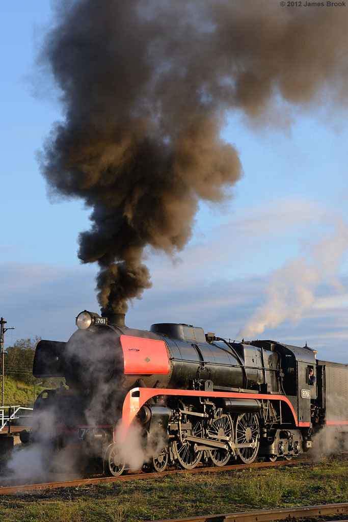 R761 in the yards at Newport Workshops by James Brook