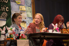 Nancy E. Carroll, Johanna Day, and Karen MacDonald in GOOD PEOPLE (2012). Photo by T. Charles Erickson.