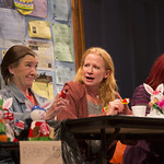 Nancy E. Carroll as Dottie, Johanna Day as Margaret, and Karen MacDonald as Jean in the Huntington's production of David Lindsay-Abaire's compelling Southie story GOOD PEOPLE directed by Kate Whoriskey, playing September 14 — October 14, 2012 at the Avenue of the Arts / BU Theatre. Photo: T. Charles Erickson