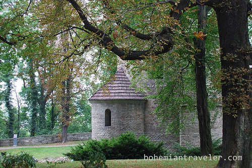 on castle hill in Cieszyn Poland