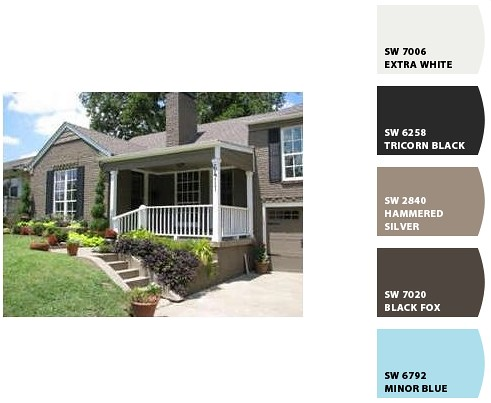 Trying To Choose Exterior Paint Colors It S Great To Be Home