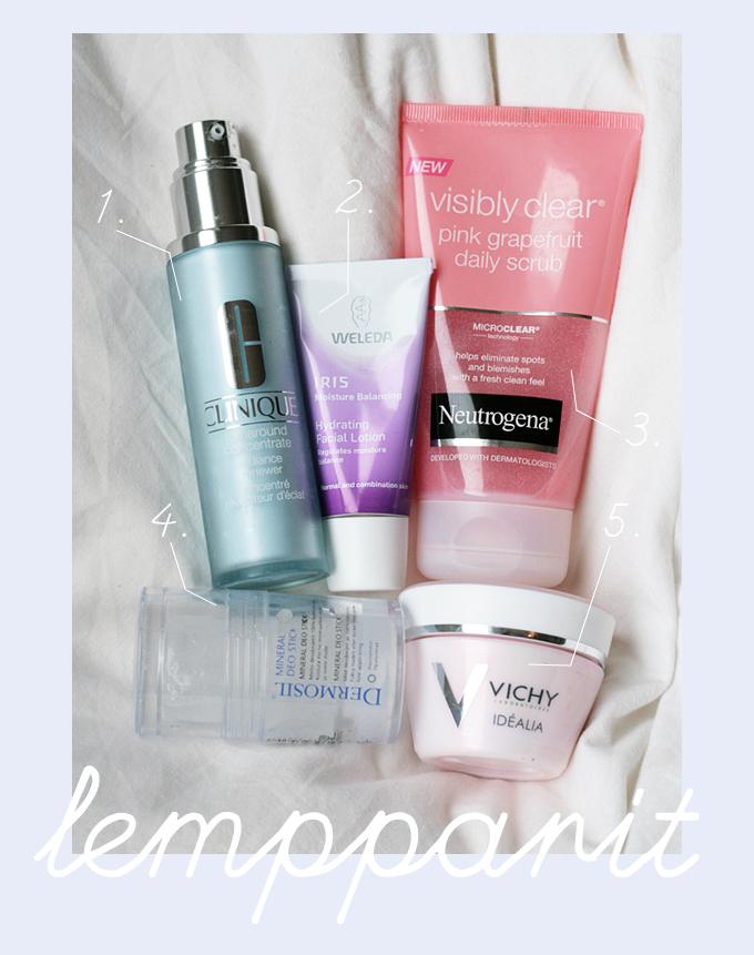 idkuva lemppari kosmetiikkaa syyskuu 2012