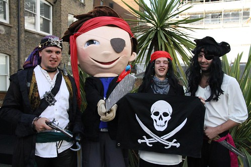 Talk Like a Pirate Day at Miniclip London!