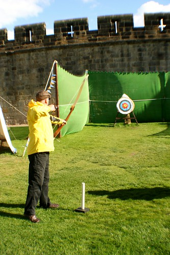 Archery at Alnwick Castle