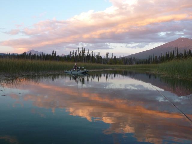 hosmer lake sunset