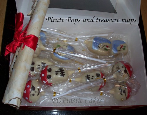 Pirate Pops and Treasure Maps