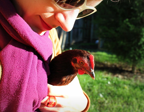 20120922. Me and Little Red.