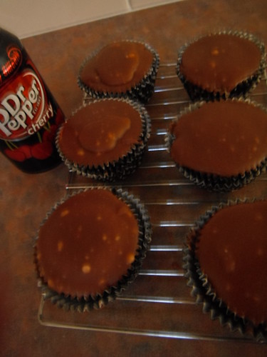Dr Pepper cupcakes =)