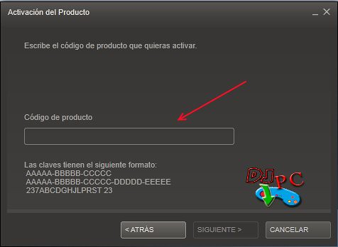 Canjear Codigos Steam 4