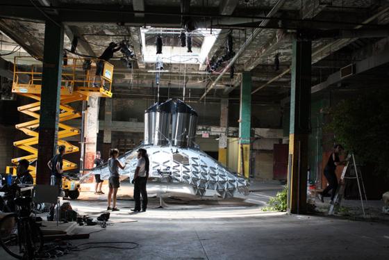 The Lowline exhibit, photo courtesy of Delancey Underground