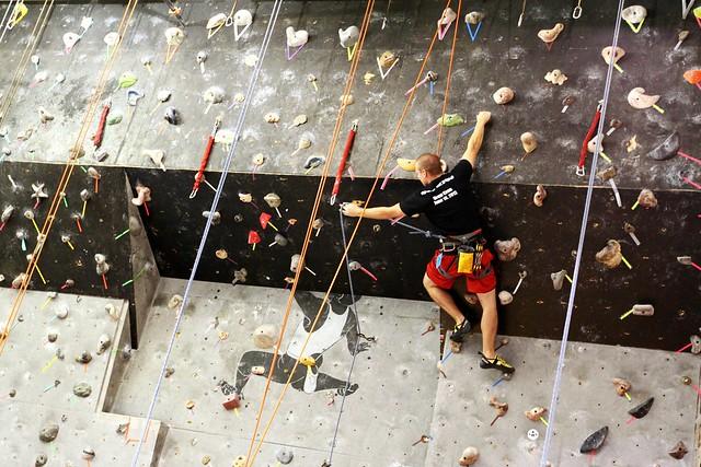 Rock Climbing at Turner Hall Gym