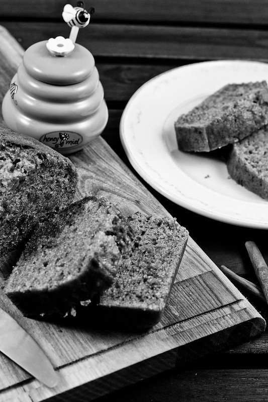 Banana Bread with Cinnamon and Honey3
