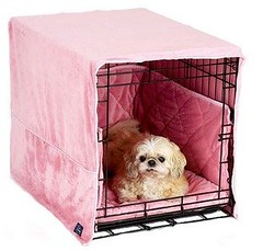 Plush Cratewear 3 Piece Dog Bedding Set...