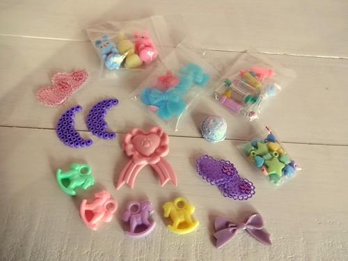 Pastel craft materials