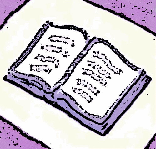 Book of Life (Digital Woodcut) by randubnick