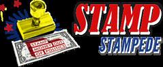 Stamp Stampede logo