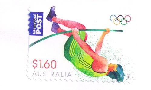 Australia Olympic Stamp