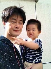 朝散歩、久しぶり (2012/9/24)