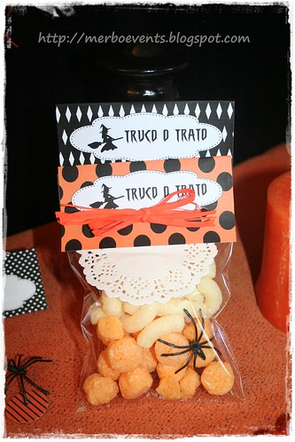 Tarjetas Bolsaskit halloween  merbo events