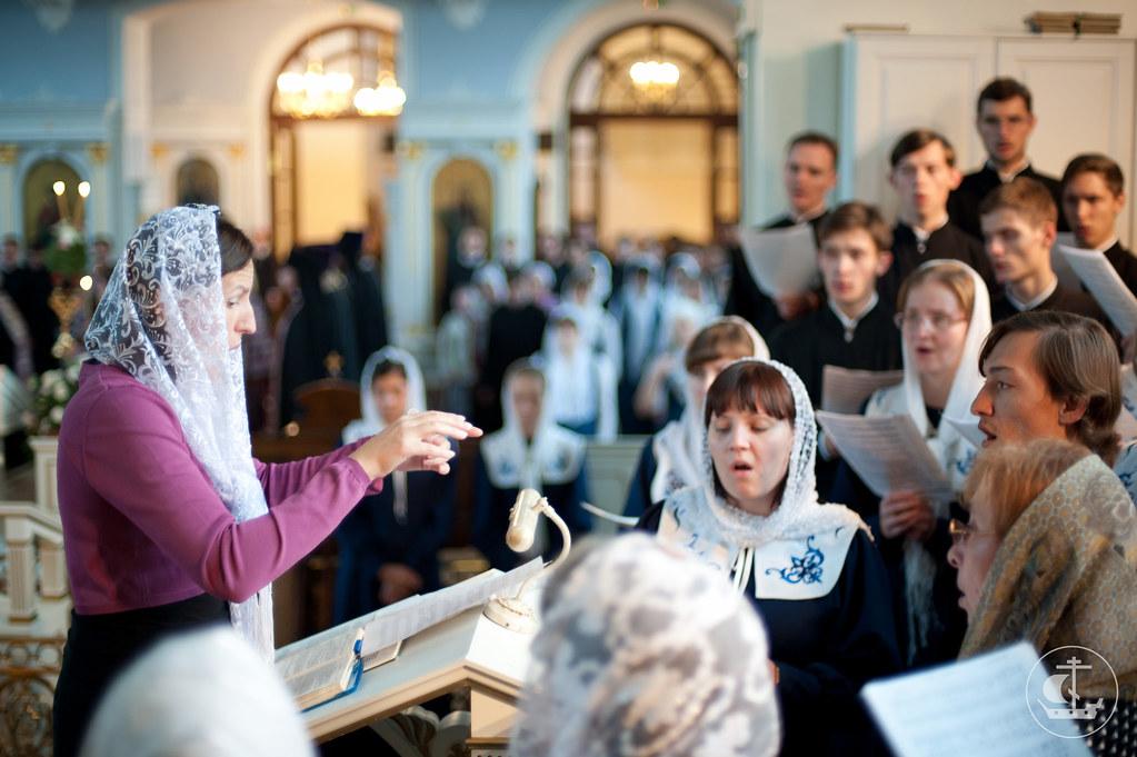 Смешанный хор духовной академии