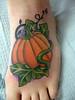 Keith Marcelle-pumpkin pumpkin on a