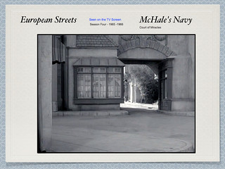 McHales Navy - Court of Miracles archway entrance