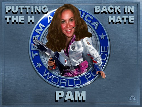 PAM GELLER by Colonel Flick