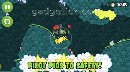 Bad Piggies против Angry Birds