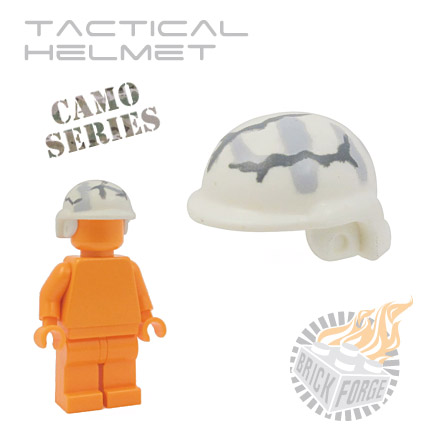 Tactical Helmet - White (camouflage)