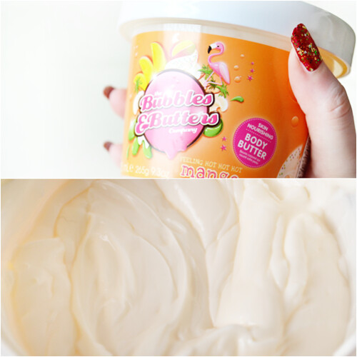 bubbles and butters company mango body butter