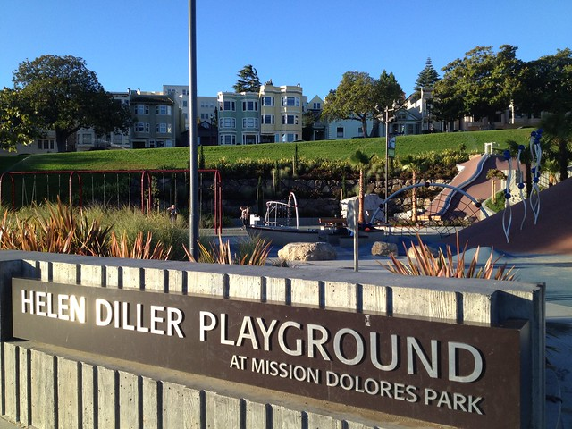 Helen Diller Playground, Mission Dolores Park
