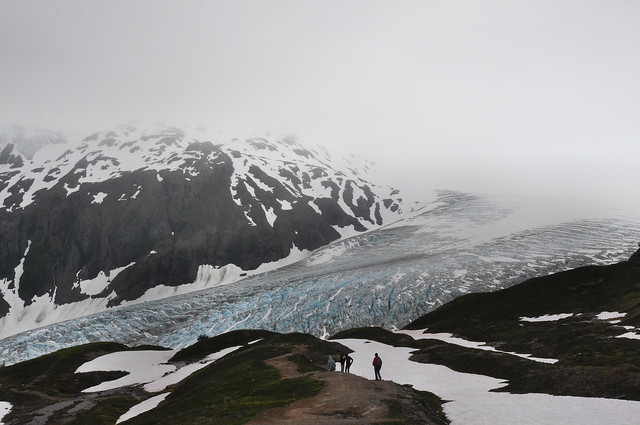 [On the way to Harding Icefield]