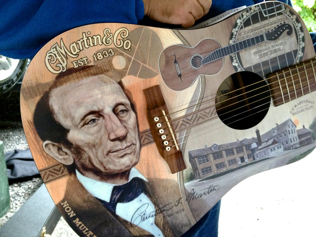 Martinのギター買取相場