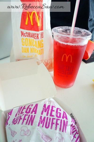 McDonald's Beef Samurai Burger, Sakura McFizz & Katsu Curry