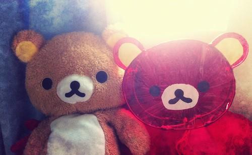 其實燈籠是造給鬆弛熊的!XD