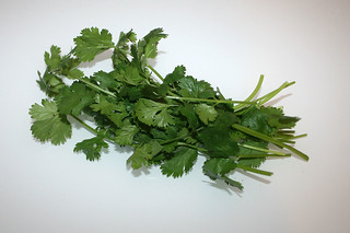 05 - Zutat Koriandergrün / Ingredient coriander leaves