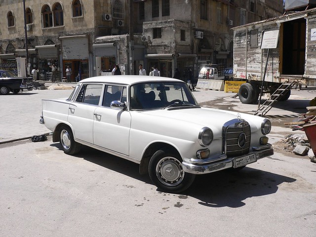 Old Mercedes in Aleppo