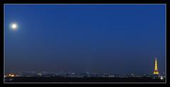 La Lune se lève à l'Est